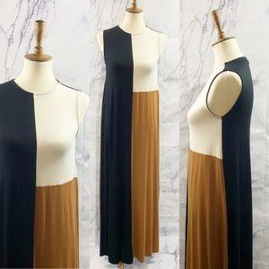Rachel Pally Tricolor Jersey Maxi Dress XS